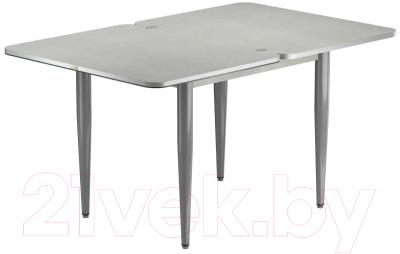 Обеденный стол Васанти Плюс ПРФ 90x70/140 РШ/к/ОА (алюминий/94)