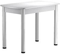 Обеденный стол Васанти Плюс БРП 100/132x60 Р/ОБ (белый/белый) -
