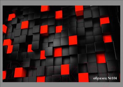 Обеденный стол Васанти Плюс Люкс 110/158x70/ОЧ (черный/хром/104)