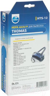 Комплект фильтров для пылесоса Neolux HTS-12