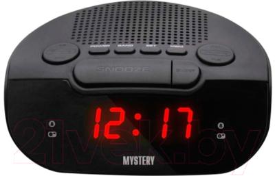 Радиочасы Mystery MCR-21 (черный/красный)