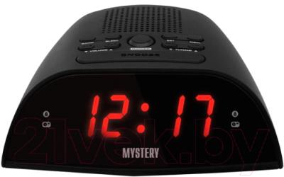 Радиочасы Mystery MCR-48 (черный/красный)