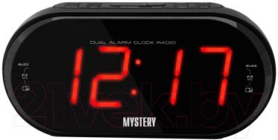 Радиочасы Mystery MCR-69 (черный/красный)