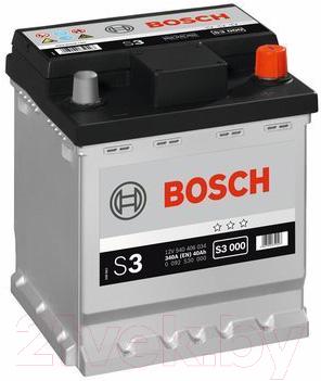 Автомобильный аккумулятор Bosch S3 000 540406034 / 0092S30000 (40 А/ч)
