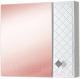 Шкаф с зеркалом для ванной Акваль Зара 71 / EZ.04.71.00.N -