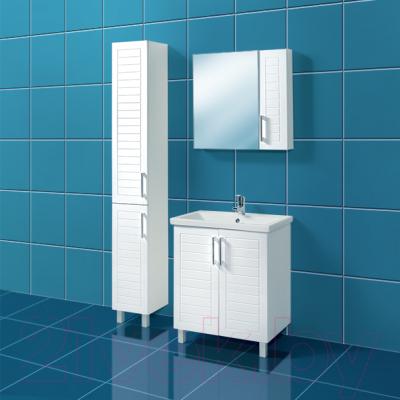 Шкаф для ванной Акваль Анна 30 / АННА.03.00.00.L