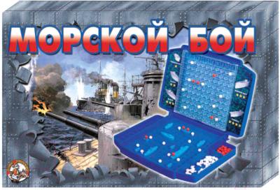 Настольная игра Десятое королевство Морской бой-2 ретро / 00993
