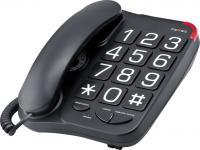 Проводной телефон Texet TX-201 (черный) -