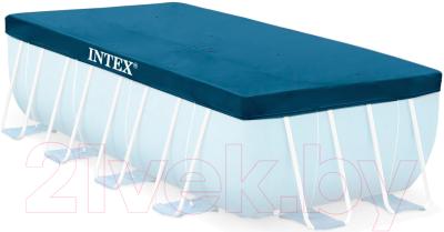 Тент-чехол для бассейна Intex 28037 - в комплекте только тент-чехол
