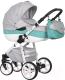 Детская универсальная коляска Riko Nano Ecco 2 в 1 (04/Malachit) -
