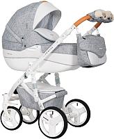 Детская универсальная коляска Riko Brano Luxe 2 в 1 (05/Grey Fox) -