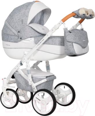 Детская универсальная коляска Riko Brano Luxe 2 в 1 (05/Grey Fox)