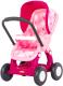 Коляска для куклы Полесье Прогулочная №2 4 колеса / 48158 (в пакете, розовый) -