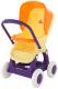 Коляска для куклы Полесье Прогулочная 4 колеса / 48134 (в пакете) -