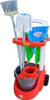 Набор хозяйственный игрушечный Полесье Помощница / 46956 (в сеточке) -