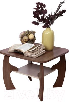 Журнальный столик Олмеко Маджеста-5 (ясень шимо т./ясень шимо св.)