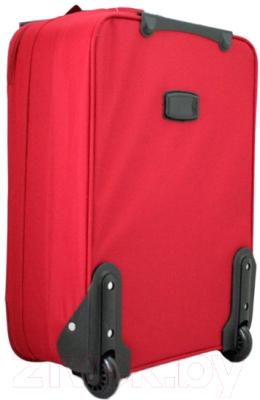 Чемодан на колесах Bellugio WA-6021S (красный)