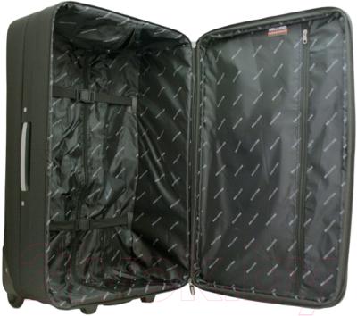 Чемодан на колесах Bellugio WA-6023L (черный)