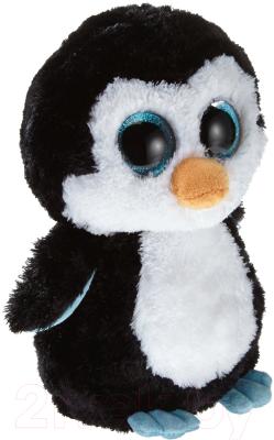 Мягкая игрушка TY Beanie Boos Пингвин Waddles / 36904