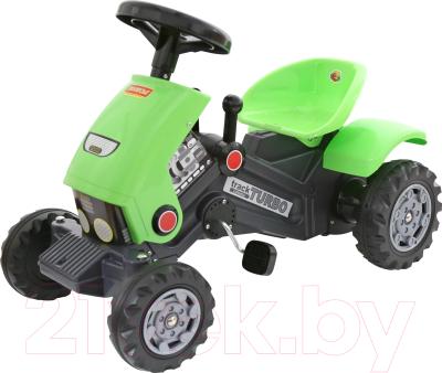 Каталка детская Полесье Трактор с педалями Turbo-2 / 52735