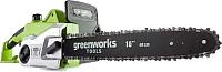 Электропила цепная Greenworks GCS1840 (20027) -