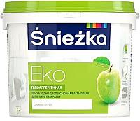 Краска Sniezka Eko (5л, белоснежный) -