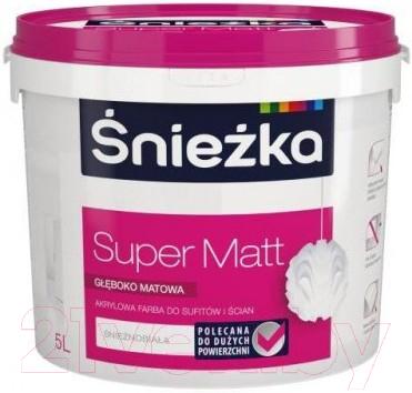 Краска Sniezka Super Matt (5л, белоснежный)