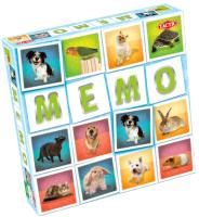 Настольная игра Tactic Мемо. Животные 2 (41439) -