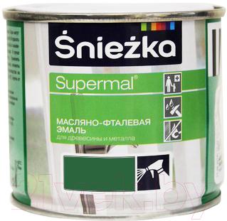 Эмаль Sniezka Supermal масляно-фталевая (400мл, зеленая мята)