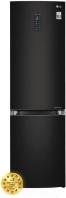 Холодильник с морозильником LG GA-B499TGBM