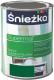 Эмаль Sniezka Supermal масляно-фталевая (800мл, мятно-зеленый) -