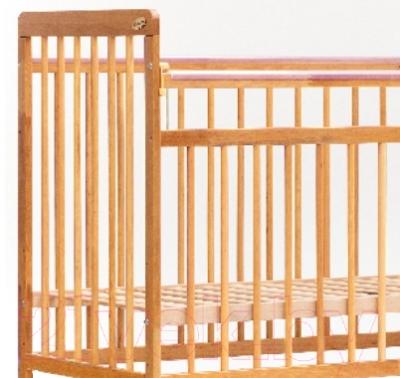 Детская кроватка Bambini Euro Style М 01.10.03 (натуральный)