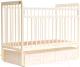 Детская кроватка Bambini Euro Style М 01.10.04 (слоновая кость) -