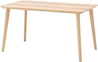 Обеденный стол Ikea Лисабо 203.612.27 -