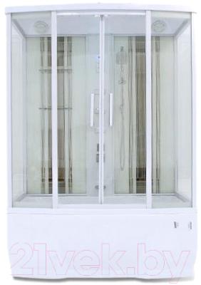 Душевая кабина Triton Альфа 150 (с вертикальными полосками)