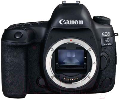 Зеркальный фотоаппарат Canon EOS 5D Mark IV Body 1483C027AA/1483C025