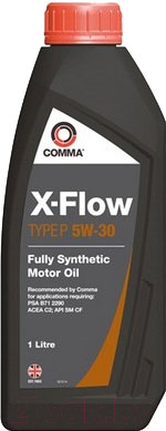 Моторное масло Comma X-Flow Type P 5W30 / XFP1L (1л)