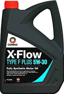 Моторное масло Comma X-Flow Type F Plus 5W30 / XFFP4L (4л)