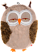 Матрас для животных Gigwi Сова 75356 (коричневый/бежевый) -