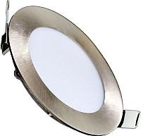 Точечный светильник Truenergy 6W 4000K 10903 (никель) -
