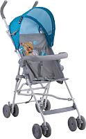 Детская прогулочная коляска Lorelli Light 2017 Blue Grey Hello Bear / 10020471718 -