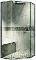 Душевой уголок Adema Safier-90 / AD7633 (прозрачное стекло) -