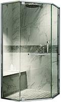 Душевой уголок Adema Safier-90 / AD7633 (тонированное стекло) -