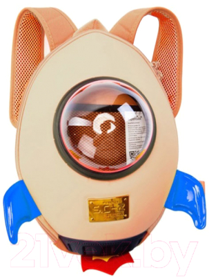 Детский рюкзак Bradex Ракета / DE 0236 (бежевый)
