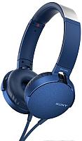 Наушники-гарнитура Sony MDR-XB550AP (синий) -