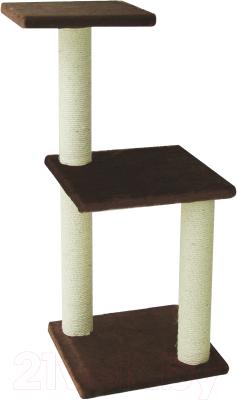 Комплекс для кошек UrbanCat K96-01-06 (коричневый)