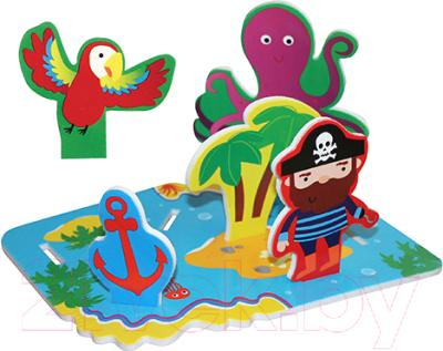 Игрушка для ванной Lubby Остров сокровищ 14087