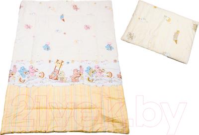 Комплект постельный детский Баю-Бай Забава К20-З2 (бежевый)