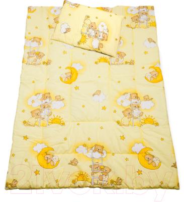 Комплект постельный детский Баю-Бай Нежность К20-Н2 (бежевый)