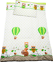 Комплект постельный детский Баю-Бай Раздолье / К20-Р3 (зеленый) -